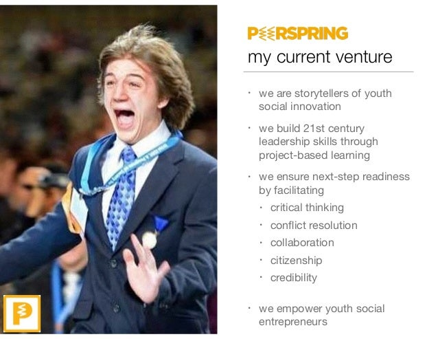 my current venture • we are storytellers of youth social innovation  • we build 21st century leadership skills through pro...