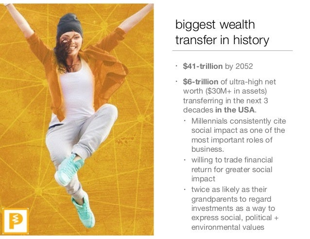 biggest wealth transfer in history • $41-trillion by 2052   • $6-trillion of ultra-high net worth ($30M+ in assets) transf...