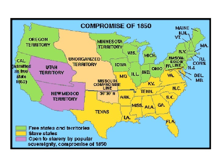 Map of the us 1860 slave states free states causes of the us civil war freerunsca Images