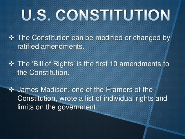 a brief outline of the principles and 10 amendments of the united states constitution Two additional articles were proposed to the states only the final ten articles  were ratified quickly and correspond to the first through tenth amendments to  the.