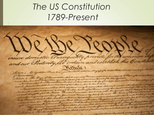 us constitution 1 1: the senate of the united states shall be composed of two senators from each   powers vested by this constitution in the government of the united states,.