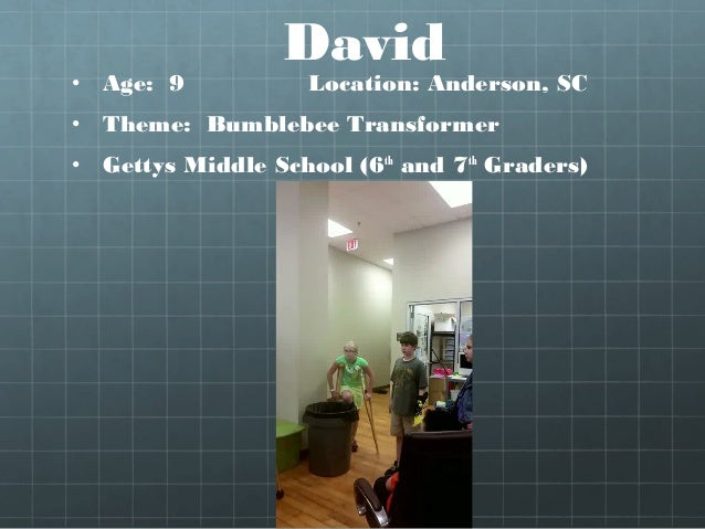 Caeden (arm & hand) • Location: Buffalo, NY Age: 3 years • Hughes Academy, Greenville, SC (7th & 8th Graders) • Caeden's s...