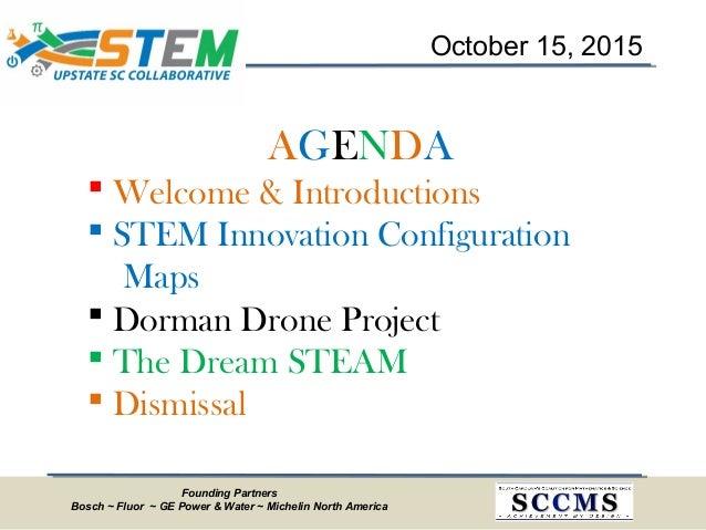Upstate SC STEM Collaborative Meeting - October 2015 Slide 2