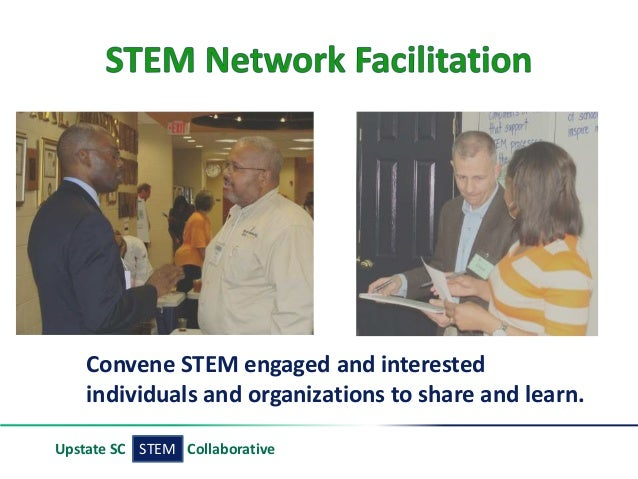 STEMUpstate SC Collaborative Convene STEM engaged and interested individuals and organizations to share and learn.