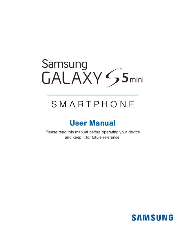 S M A R T P H O N E User Manual Please read this manual before operating your device and keep it for future reference.