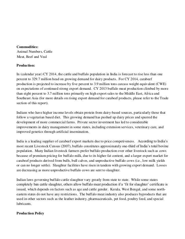 Dr Dev Kambhampati | USDA- INDIA Livestock & Products Annual Report (…
