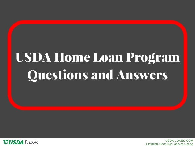 Usda loan program questions answers usda loans com for Usda approved homes