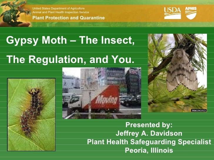 Avoid  Moving Pests  by Jeffrey A. Davidson, USDA