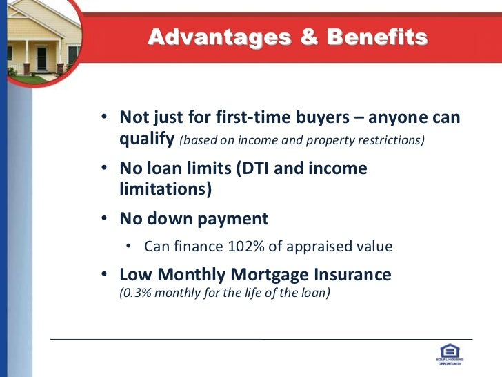 Image result for usda loans mortgage benefits and advantages