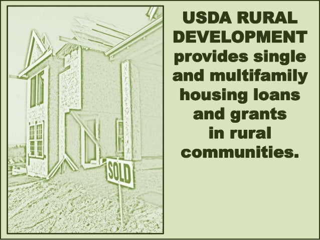 Usda resources for seniors and veterans housing - Usda rural housing development ideas ...