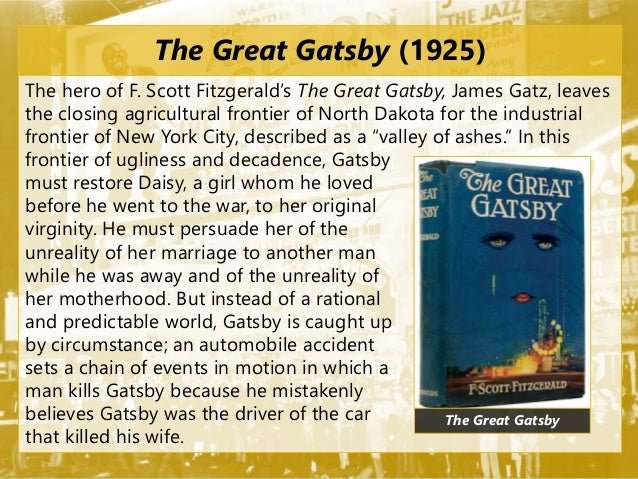 an ind depth analysis of fscott fitzgeralds the great gatsby The great gatsby is told entirely through nick's eyes his thoughts and perceptions shape and color the story read an in-depth analysis of nick carraway jay gatsby - the title character and protagonist of the novel, gatsby is a fabulously wealthy young man living in a gothic mansion in west egg.