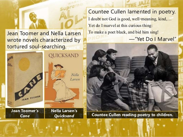 analysis of the poem by countee cullen yet do i marvel Countee cullen and the harlem renaissance  in this poem, cullen describes the inferiority of blacks in america  an analysis of cullen's yet do i marvel.