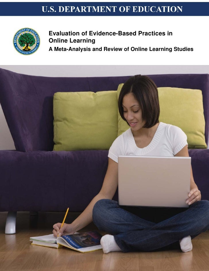 Evaluation of Evidence-Based Practices in Online Learning A Meta-Analysis and Review of Online Learning Studies