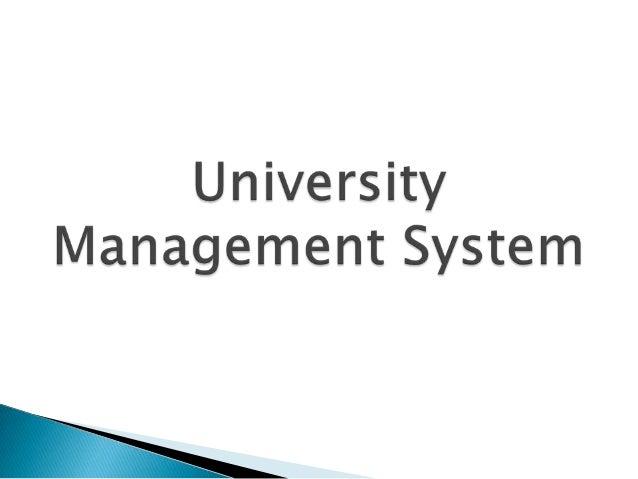 University Management System Use Case