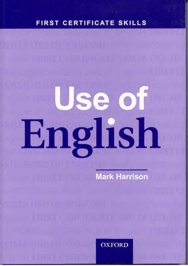 Use Of-english-oxford