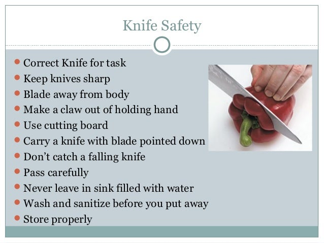Use And Care Of Knives