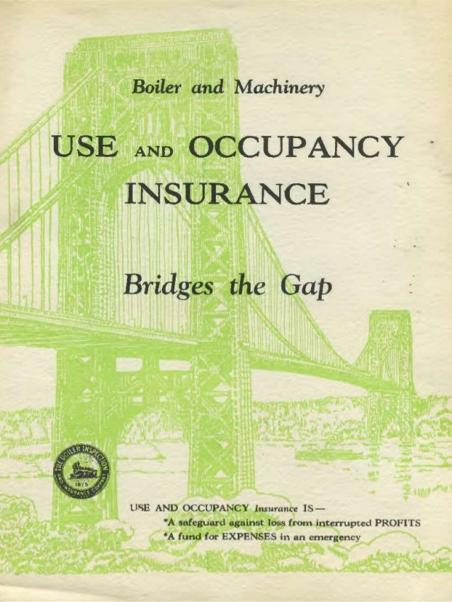 Equipment Breakdown Insurance Vintage Brochure