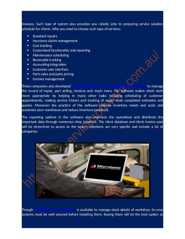 free automotive billing software