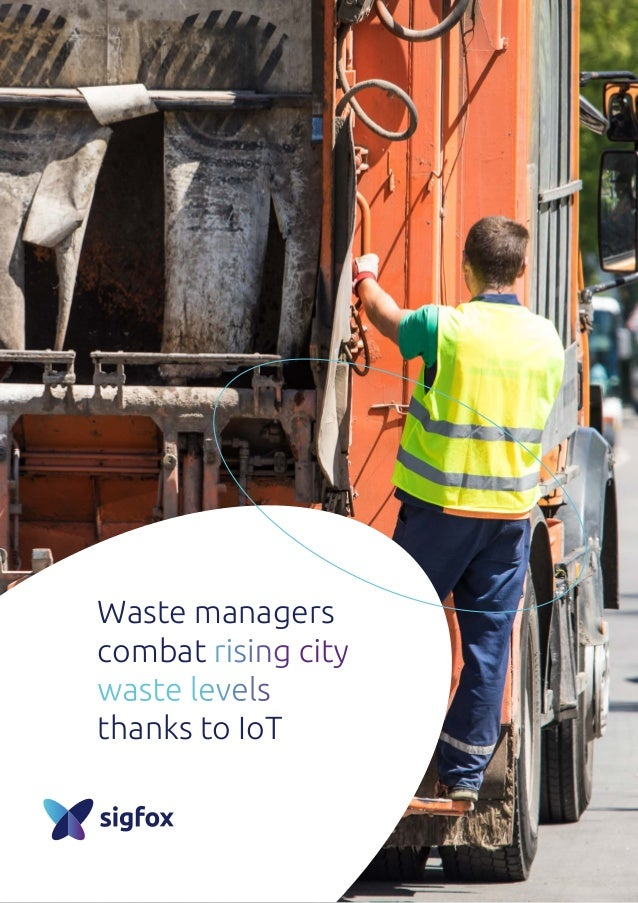 Waste managers combat rising city waste levels thanks to IoT
