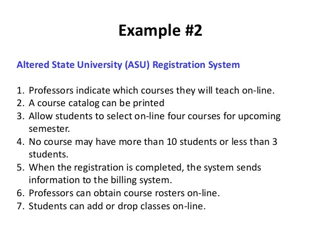 Use case diagrams 35 example 2 altered state university asu registration system ccuart Choice Image