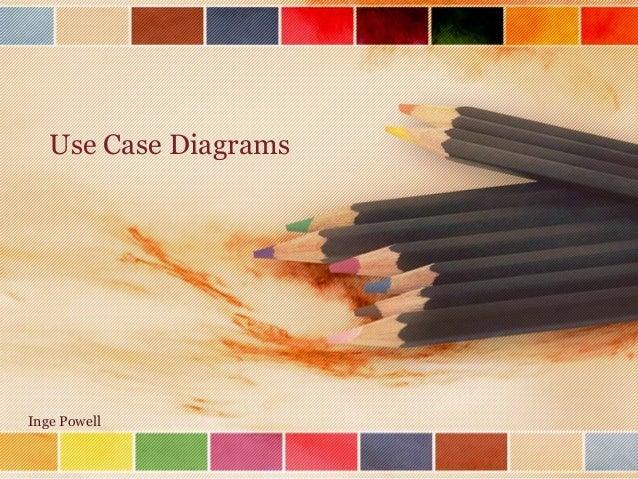 Use Case Diagrams  Inge Powell