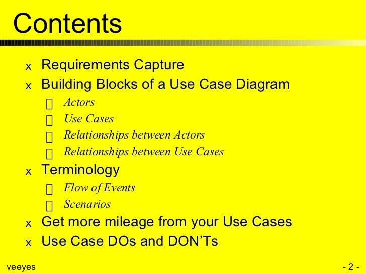 Use Case Modeling Slide 2