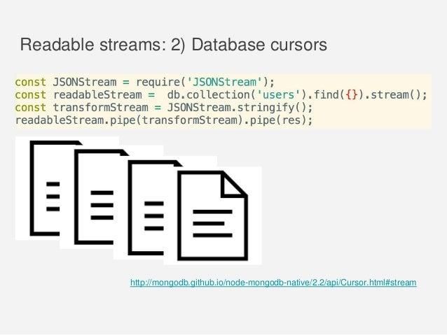Andrii Shumada ''Use cases of Node js Streams''
