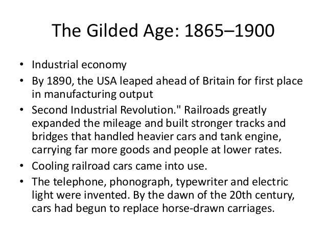 Economic History Of Usa