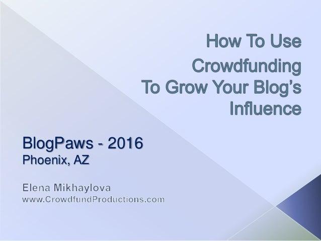 BlogPaws - 2016 Phoenix, AZ