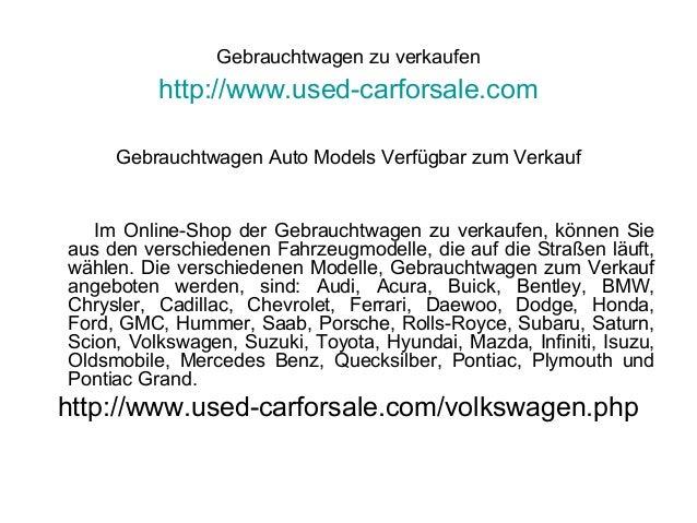 Gebrauchtwagen zu verkaufen http://www.used-carforsale.com Gebrauchtwagen Auto Models Verfügbar zum Verkauf Im Online-Shop...
