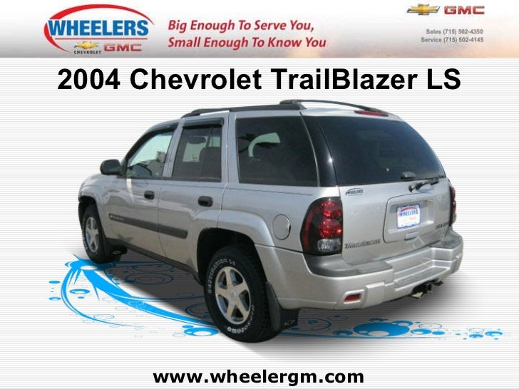 service manual  chevrolet trailblazer 2004 owners manual 2004 Chevy Trailblazer Fuse Box Diagram 2004 Chevy Trailblazer Interior
