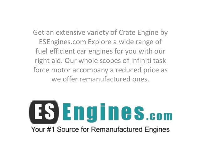 Rebuilt Car Engines for Sale by ESEngines com