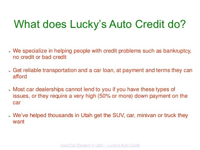 used car dealers in utah lucky 39 s auto credit. Black Bedroom Furniture Sets. Home Design Ideas