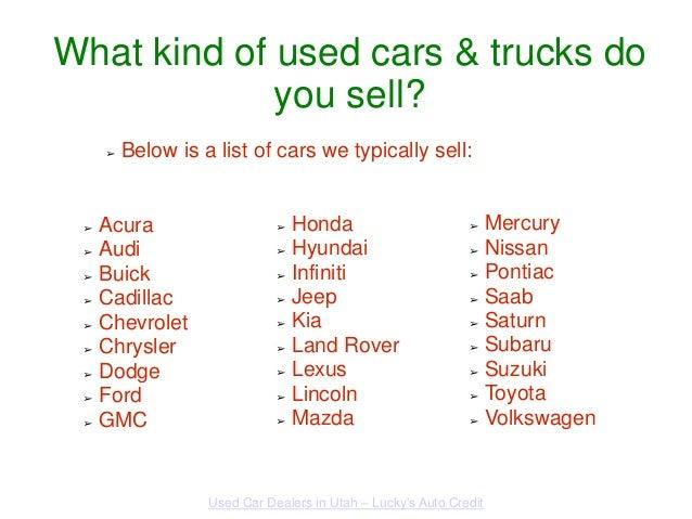 Best Used Car Dealership Utah County