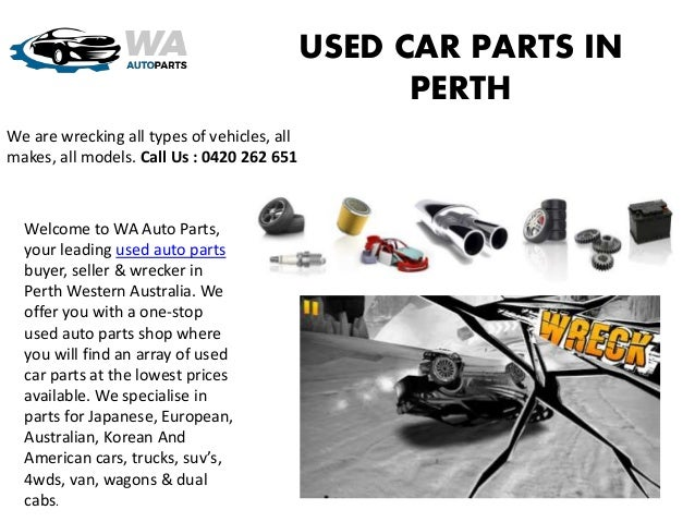 Used Car Parts In Perth