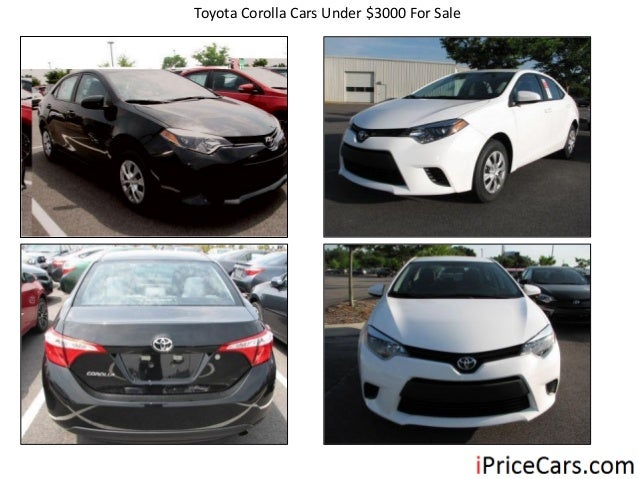 Toyotas for sale under 3000