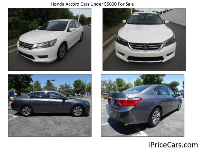 Honda Accord Cars Under $5000 For Sale