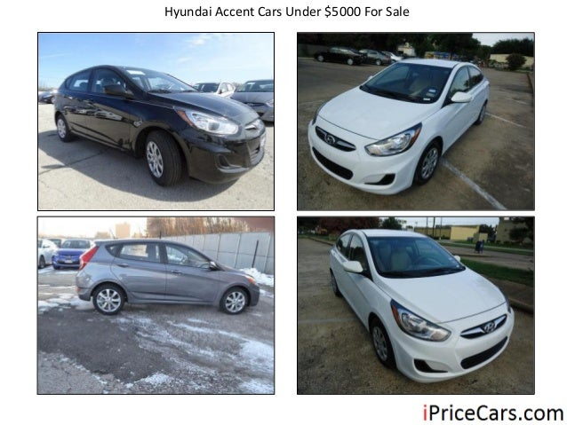 Hyundai Accent Cars Under $5000 For Sale