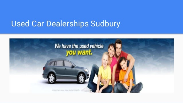 Used Car Dealerships Sudbury