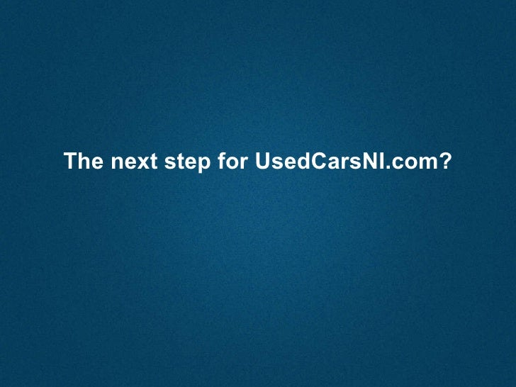 Used Cars Ni Magazine Initiative