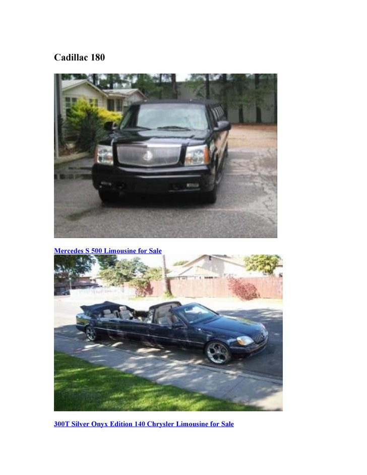 Used Limousines Amp Minneapolis Limo For Sale From