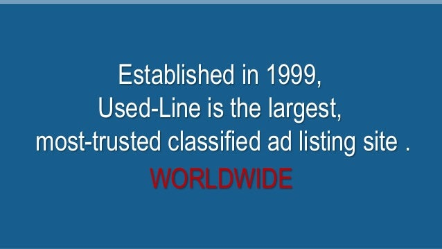 Used-Line Is the Largest, Most-Trusted Marketplace for Used Lab Equip…