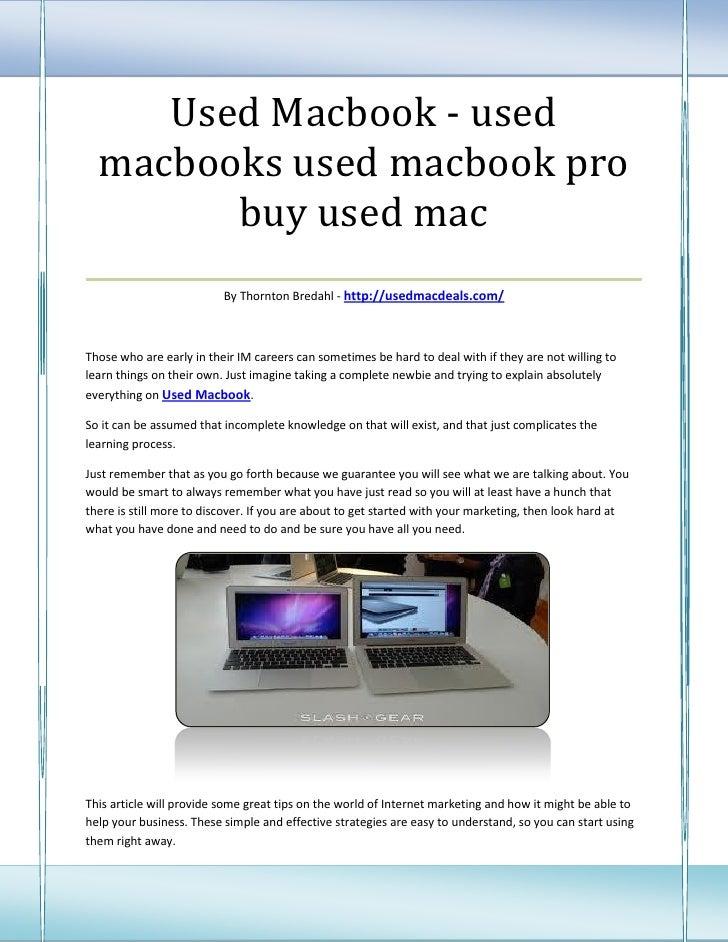 Used Macbook - used macbooks used macbook pro          buy used mac___________________________________                    ...