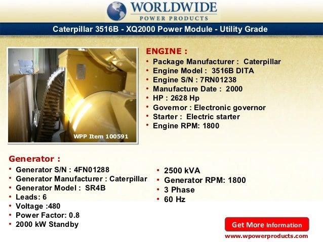 Used & New Caterpillar, Cummins, Multiquip and Kohler Diesel