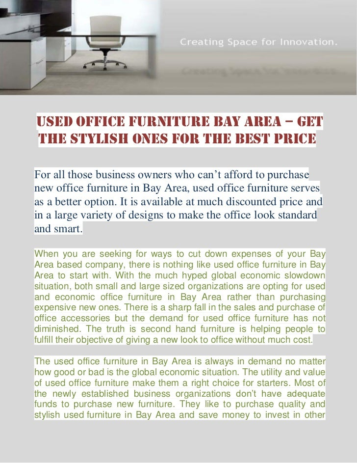 Beau Used Office Furniture Bay Area U2013 GetThe Stylish Ones For The Best PriceFor  All Those Business ...
