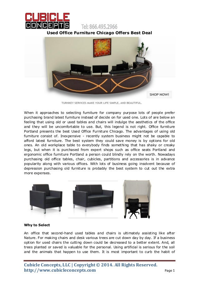 Office Furniture: Used Office Furniture Chicago Offers Best Deal