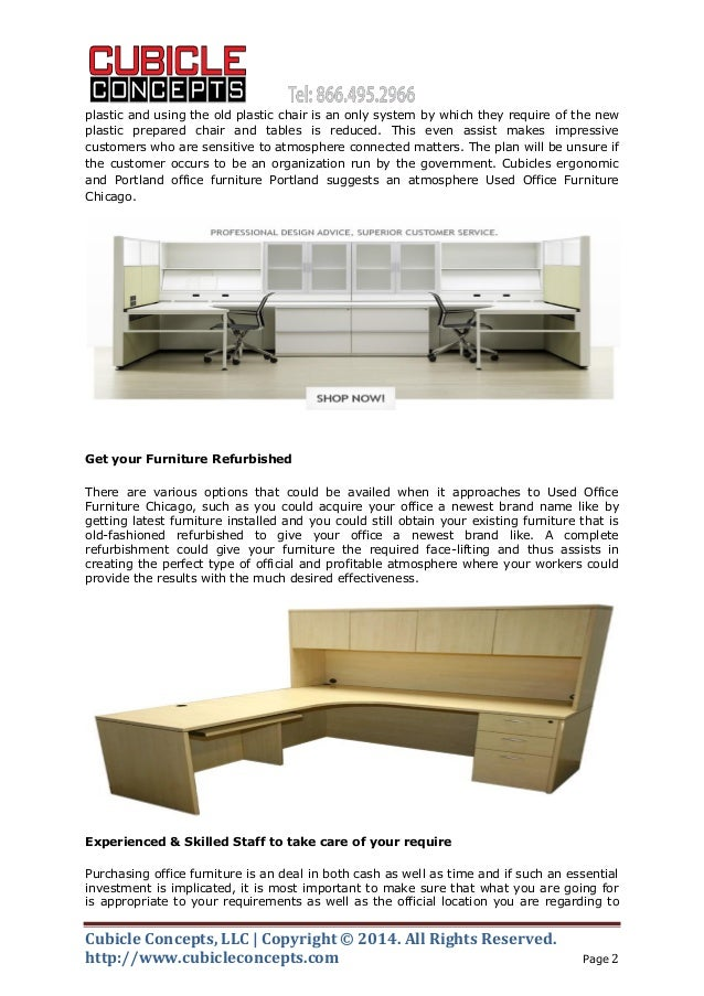 Used Office Furniture Chicago Offers Best Deal