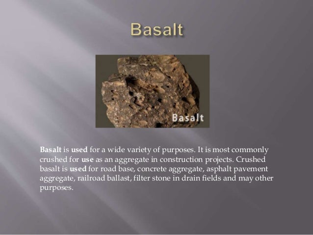 Used Of Rocks By Group 1