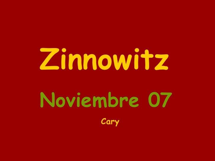 Zinnowitz Noviembre 07 Cary