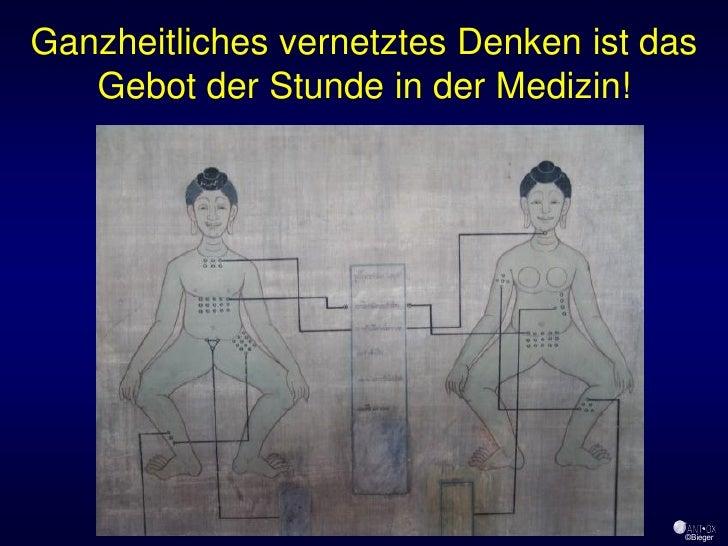 Ganzheitliches vernetztes Denken ist das    Gebot der Stunde in der Medizin!                                            ©B...